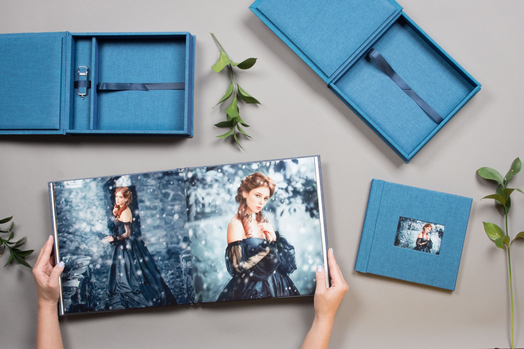 High-quality photo book and digital