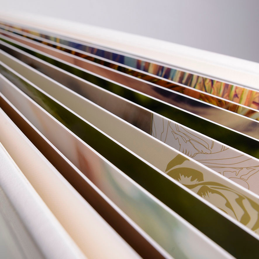 Quality, long-lasting, durable photo album spreads