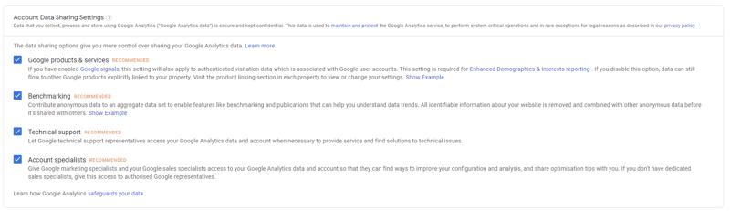 How to set up Google Analytics account