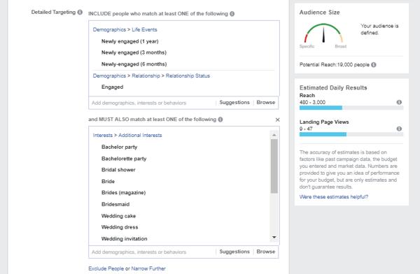 Facebook Ads - Targeting on Engaged