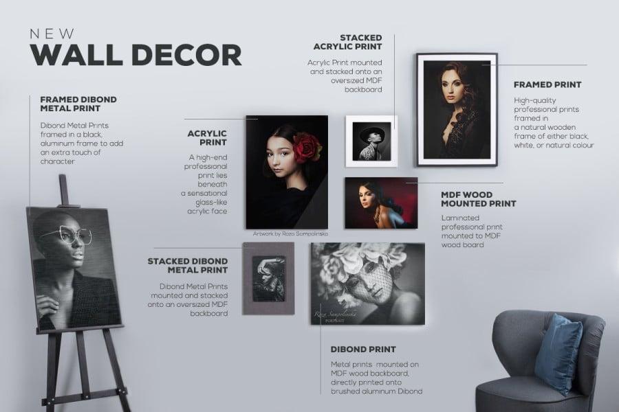 Wall Decor product range