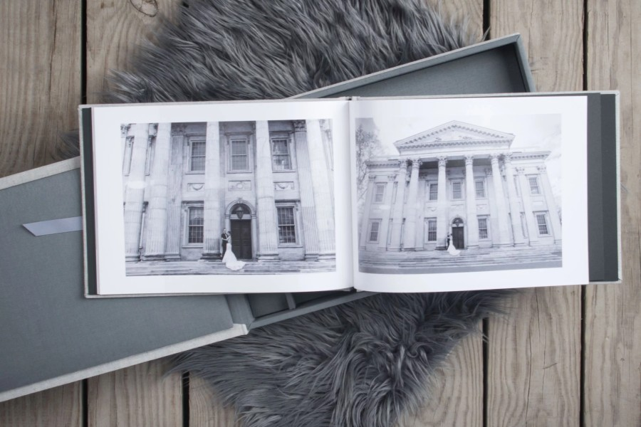 Wedding Book with Professional Arctic Matte Paper