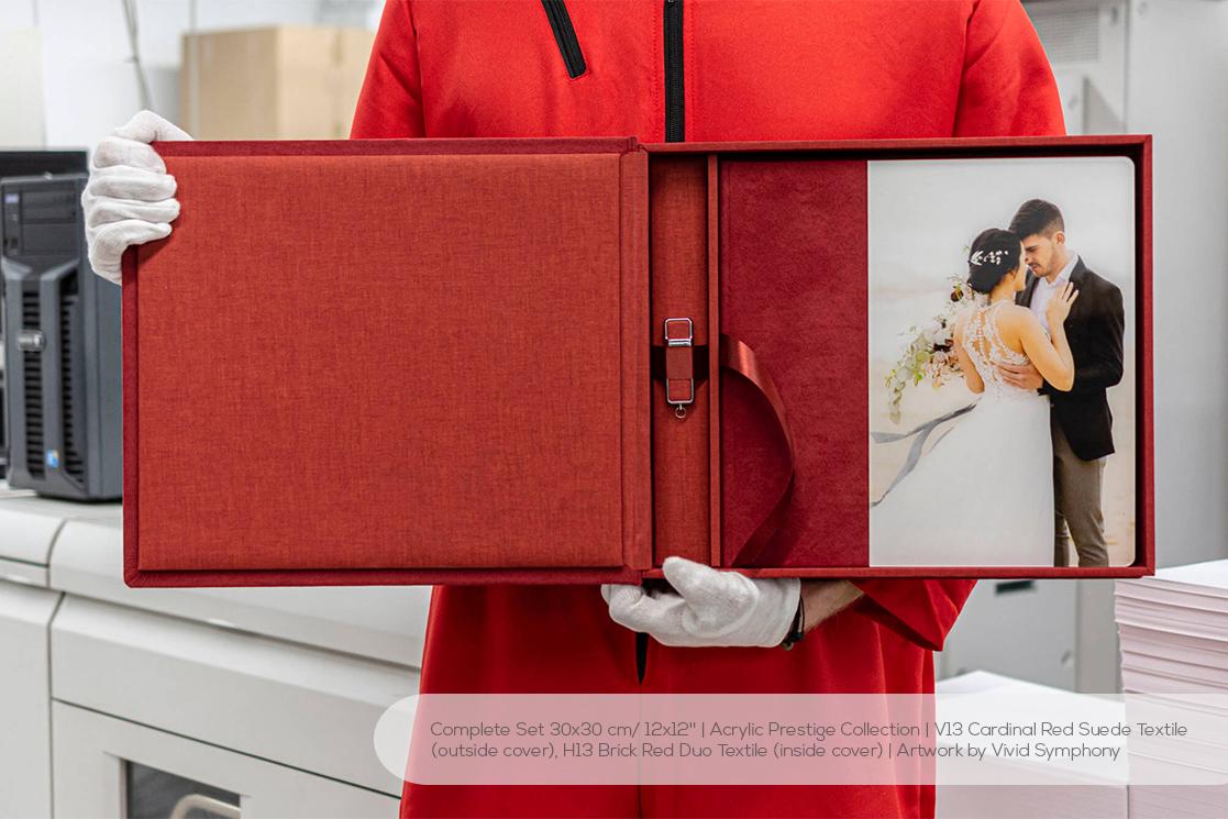 Professional Wedding Album Set with USB