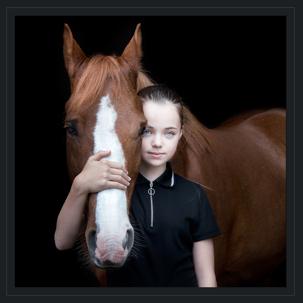Horse and Rider Professional Prints by Scotia M Photography