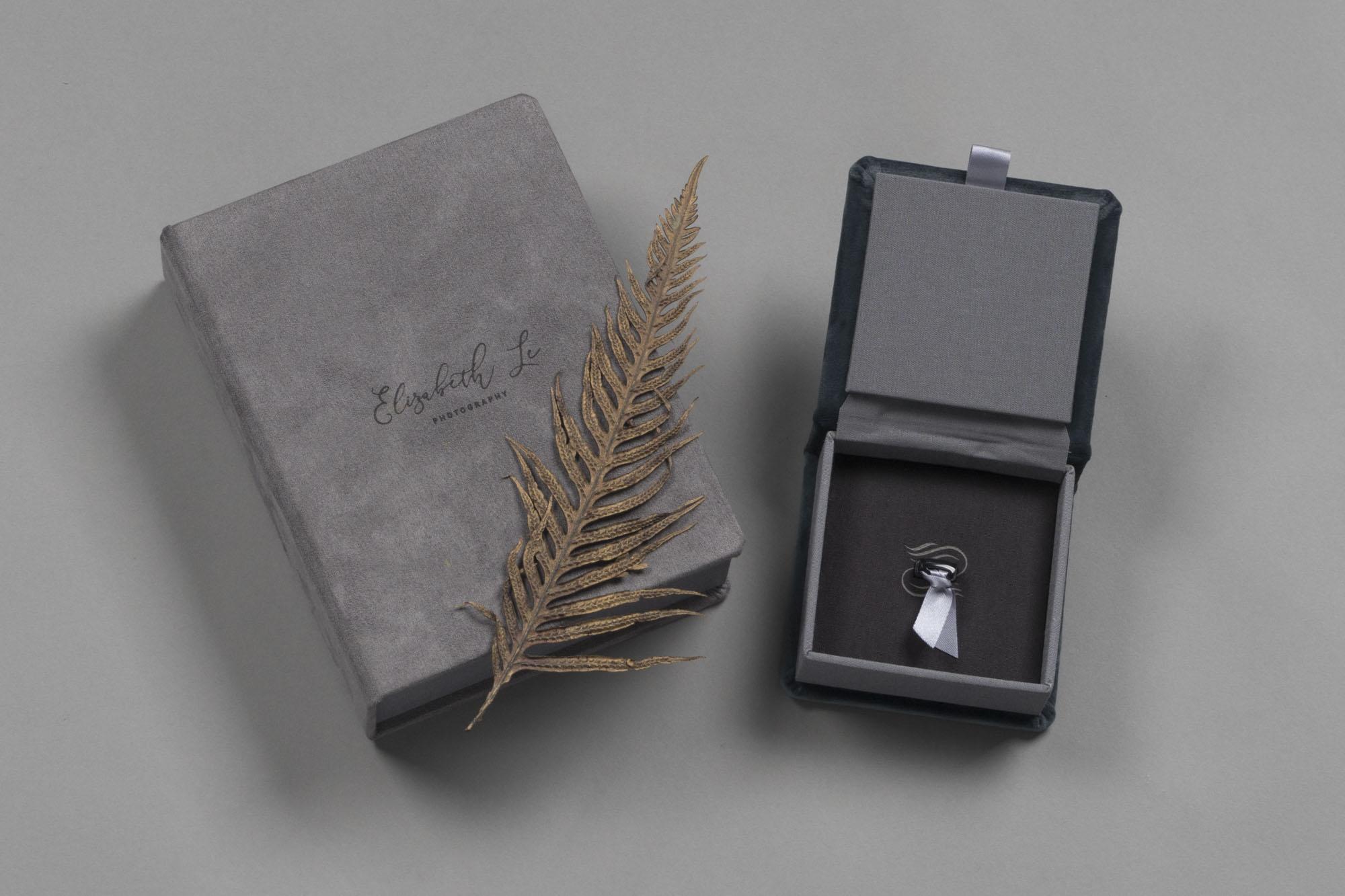 Professional Velvet USB Box and Folio Box
