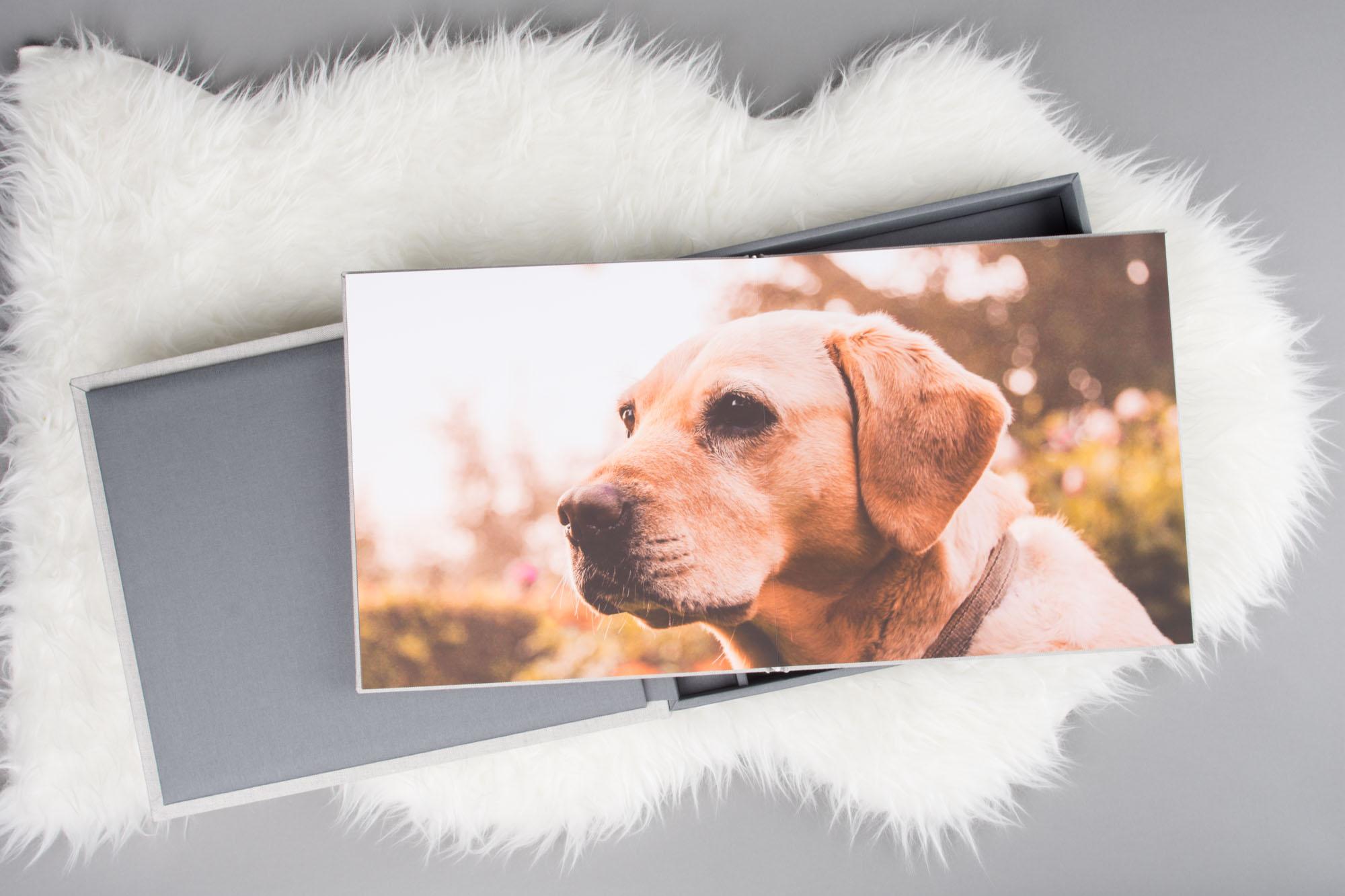 professional pet photo album