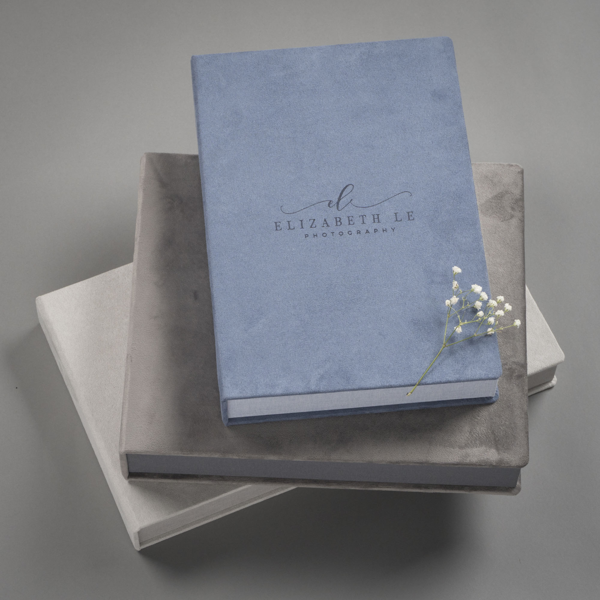 Professional Photography Albums in Velvet