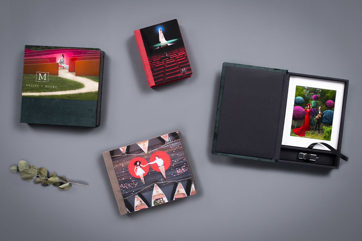 Pro photography Folio Boxes with Acrylic cover.