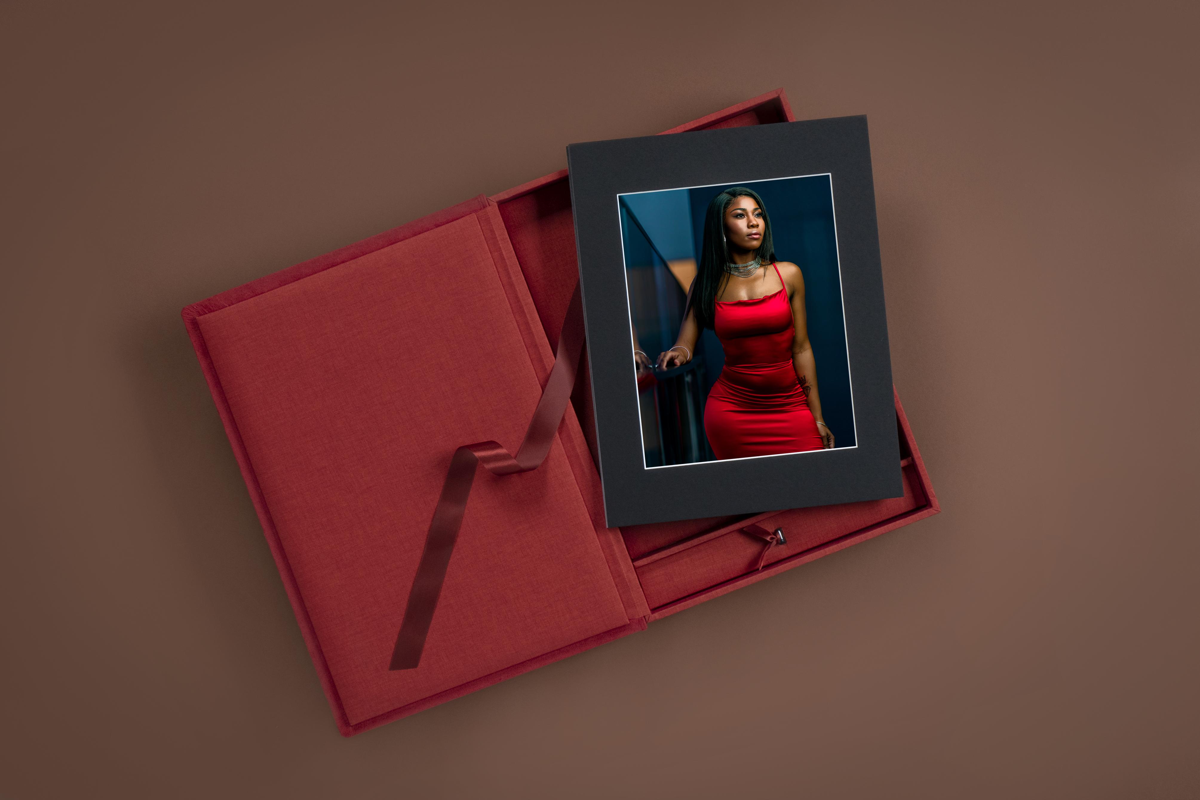 Folio Box with Mini USB - Professional Print by nPhoto - Artwork by Jermaine Horton-1