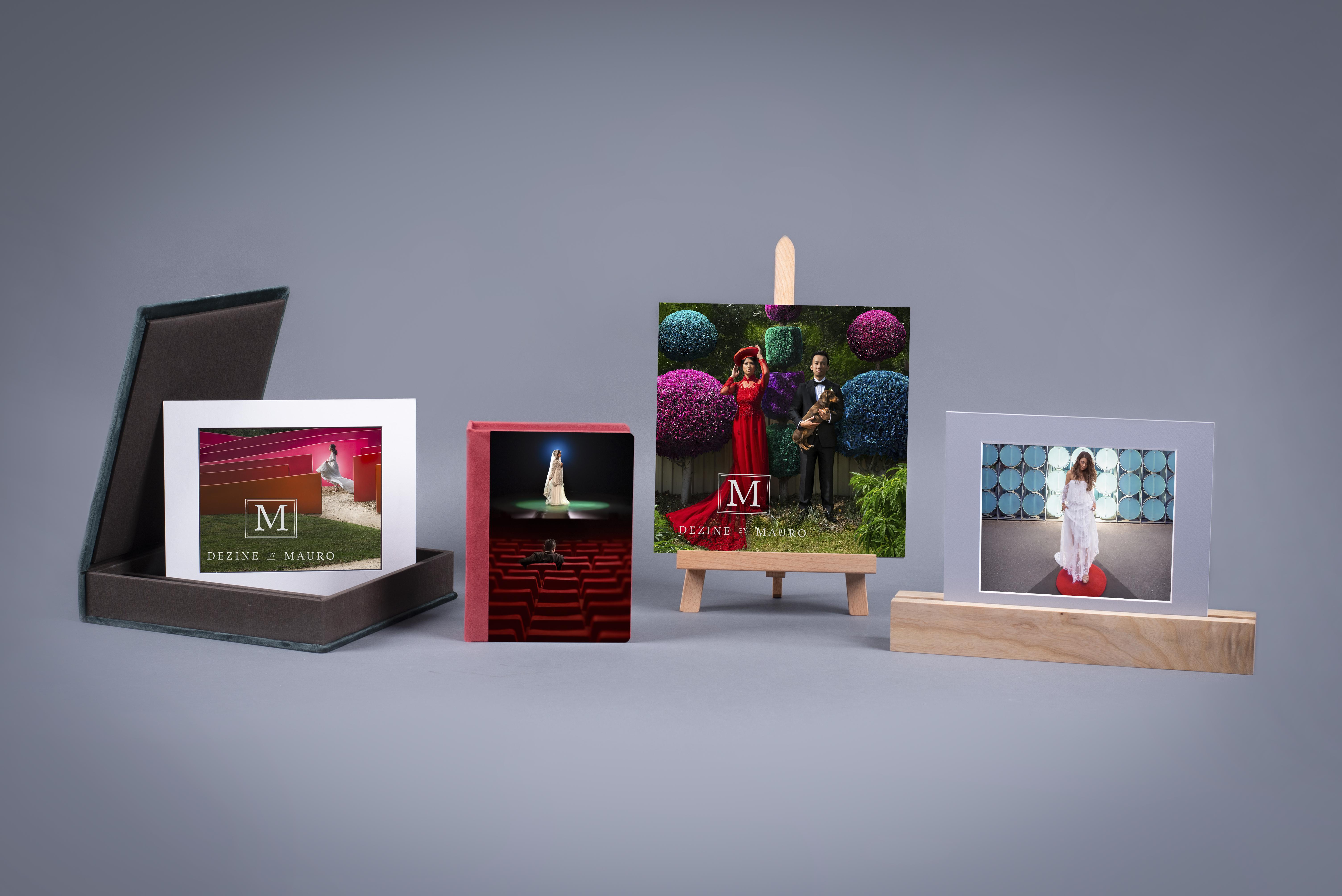 Professional Folio Box and photo products.