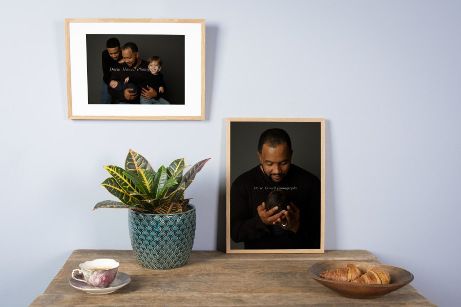 Framed Wall Decor Print - Artwork by Dorie Howell - Professional Print by nPhoto