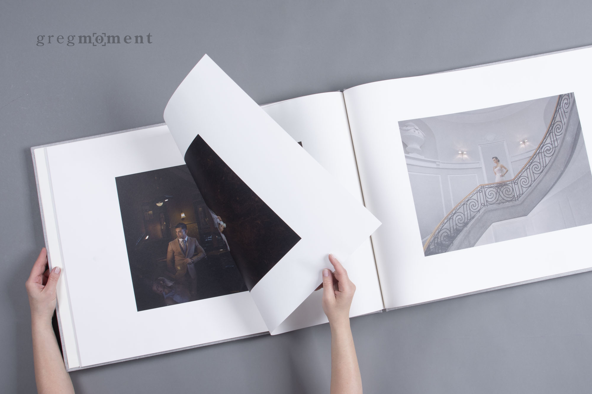 Large-format photo book
