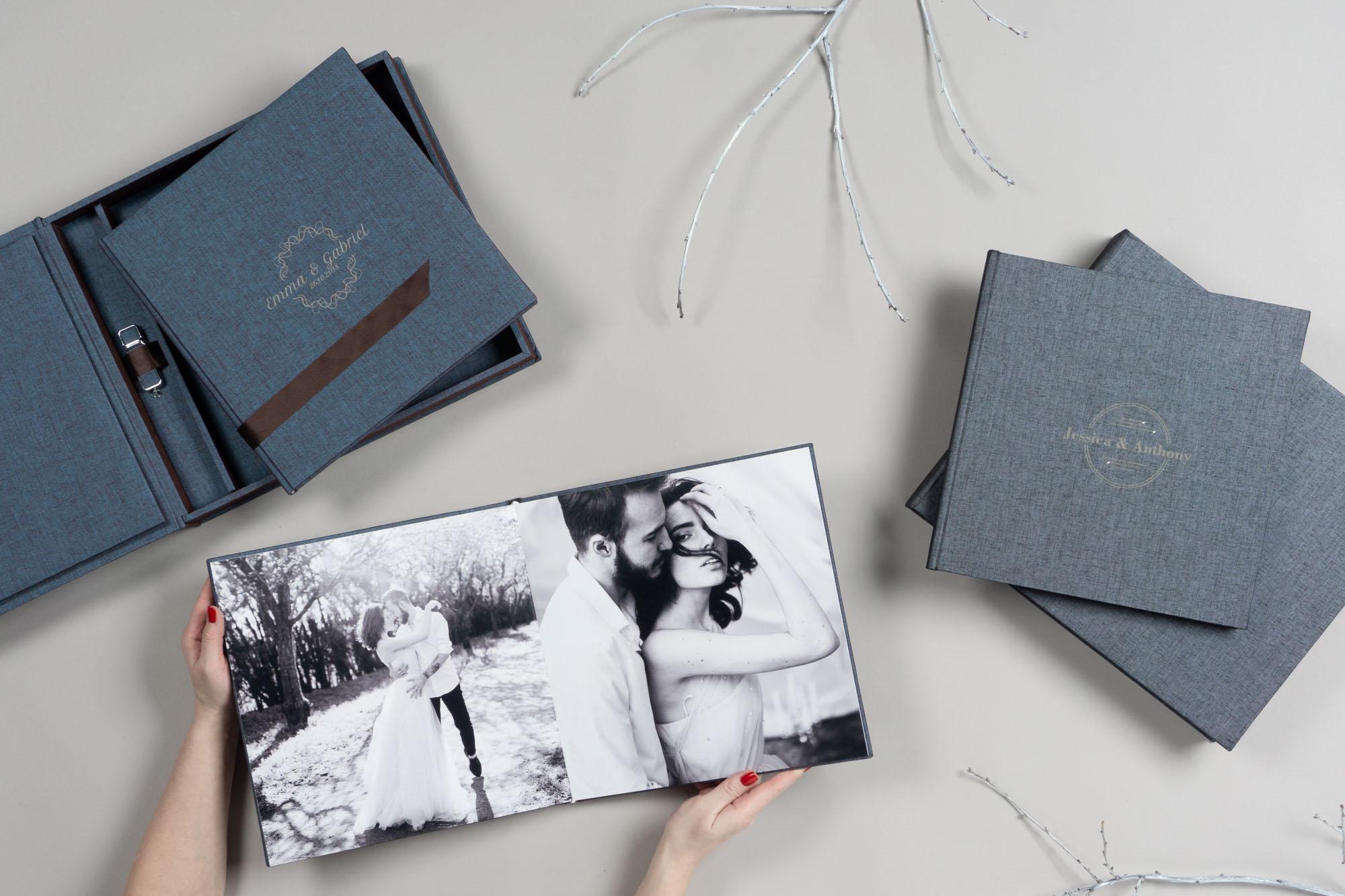 Complete Album Set full-spread display