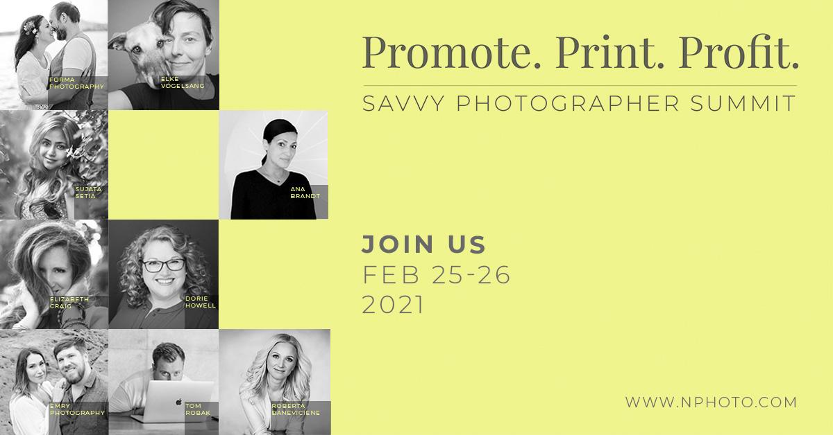 Promote Print Profit Virtual Professional Photographer's Event