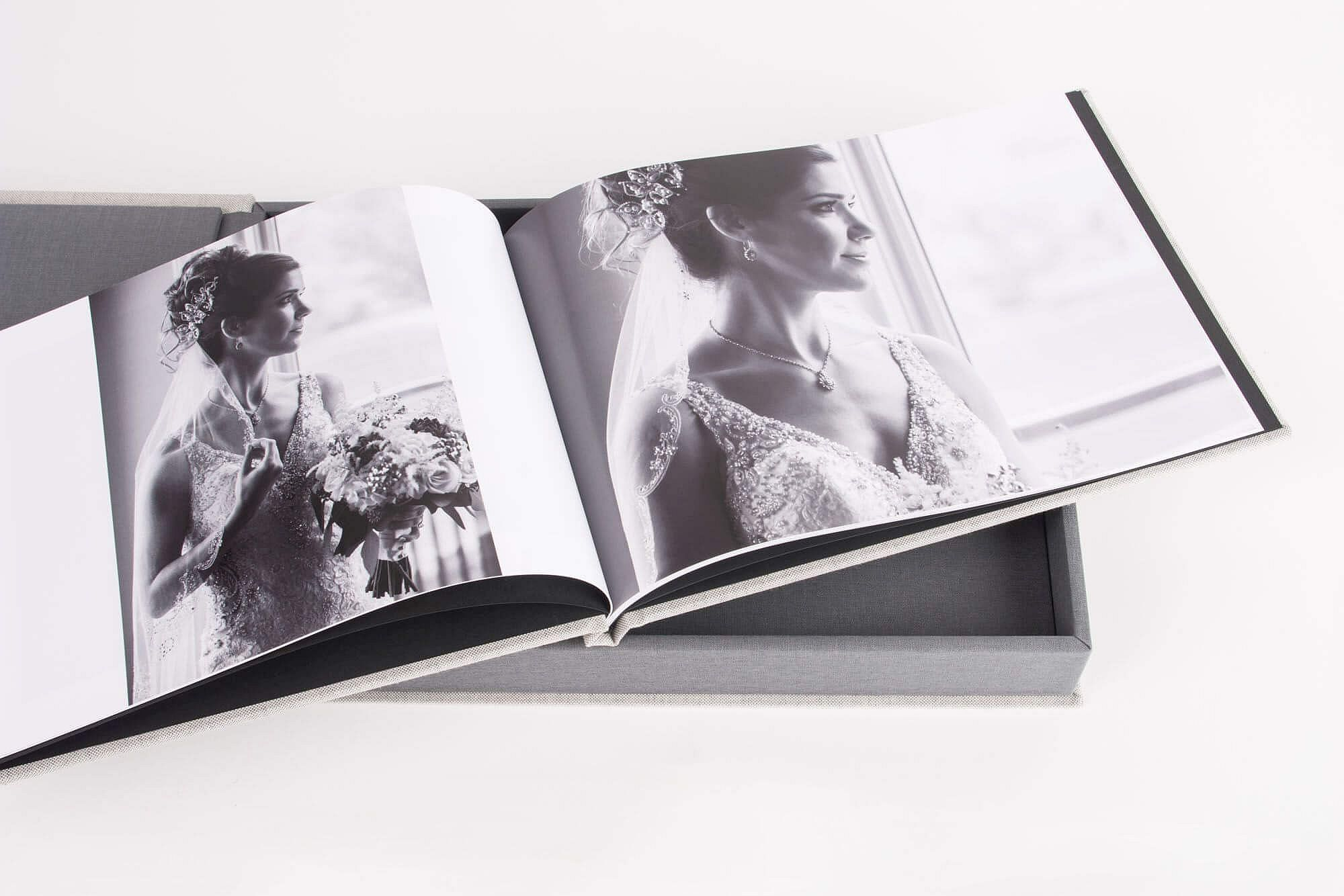 Photo Books perfect for documentary style wedding photography