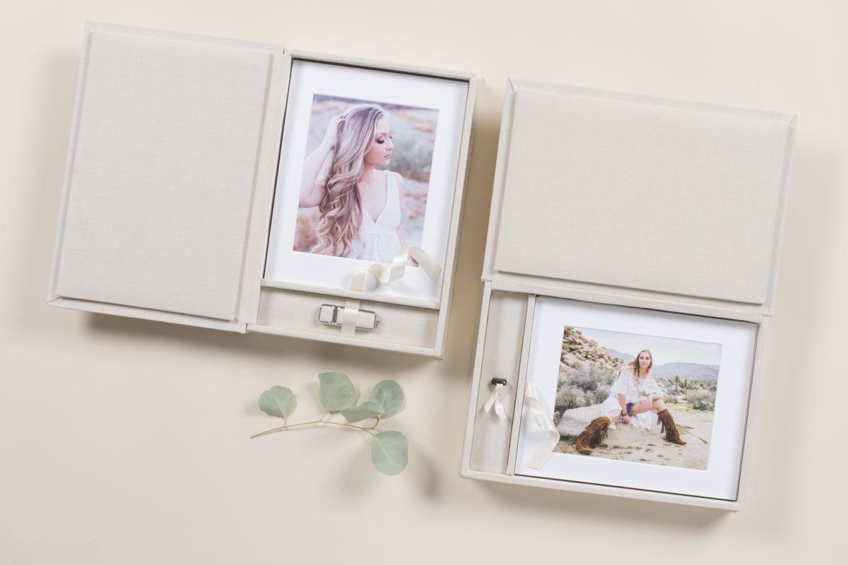 Folio Box with USB and Senior Portraits