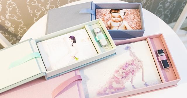 USB box for prints