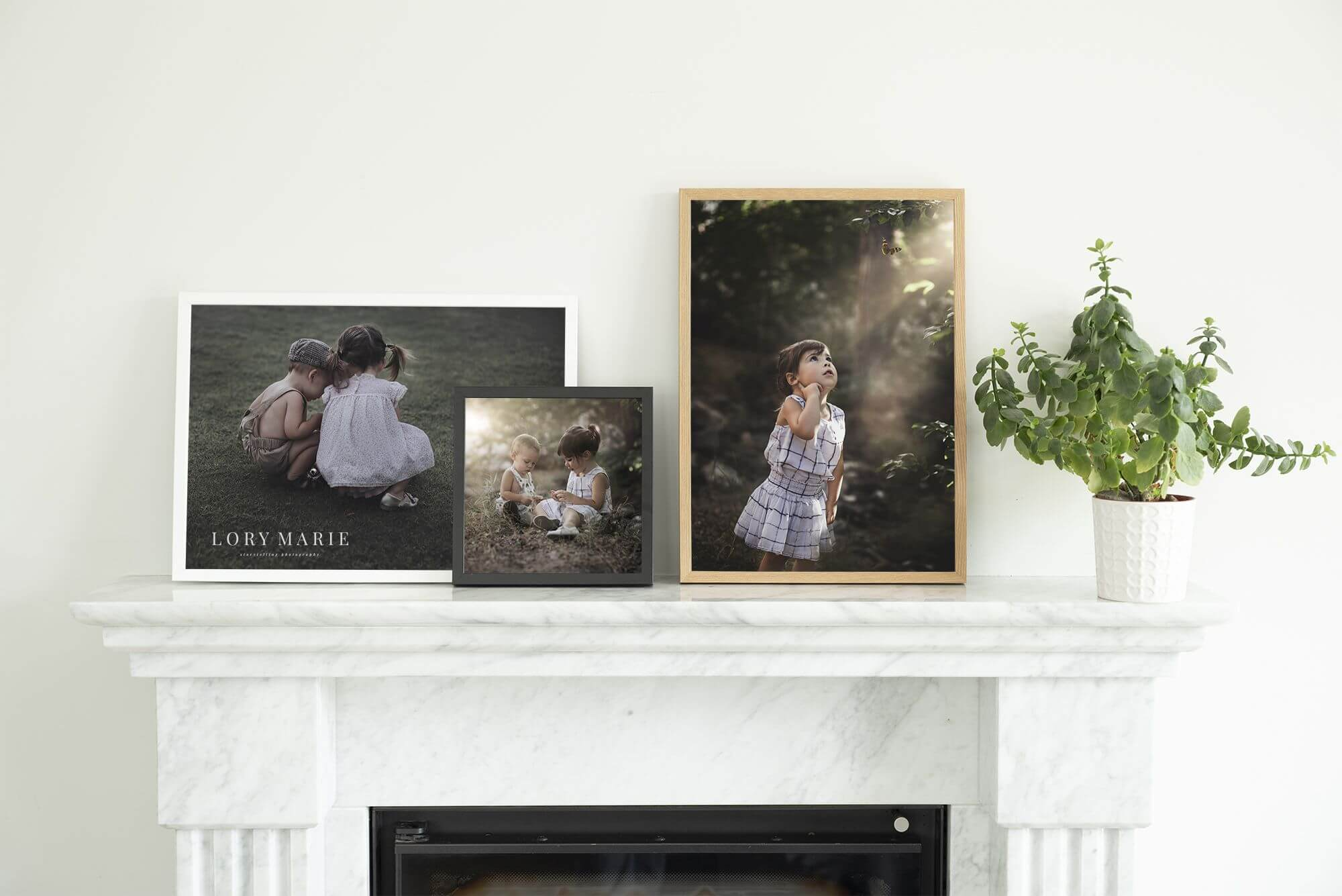 Children Photography by Lory Marie - Framed Prints