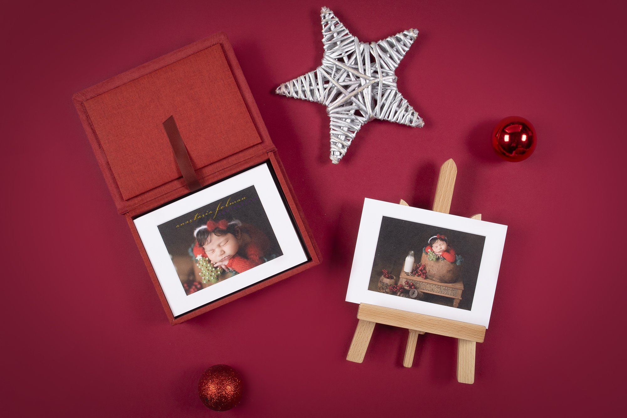 Christmas session Folio Box