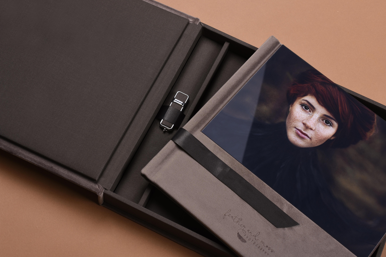 Professional Acrylic album set for Senior photography