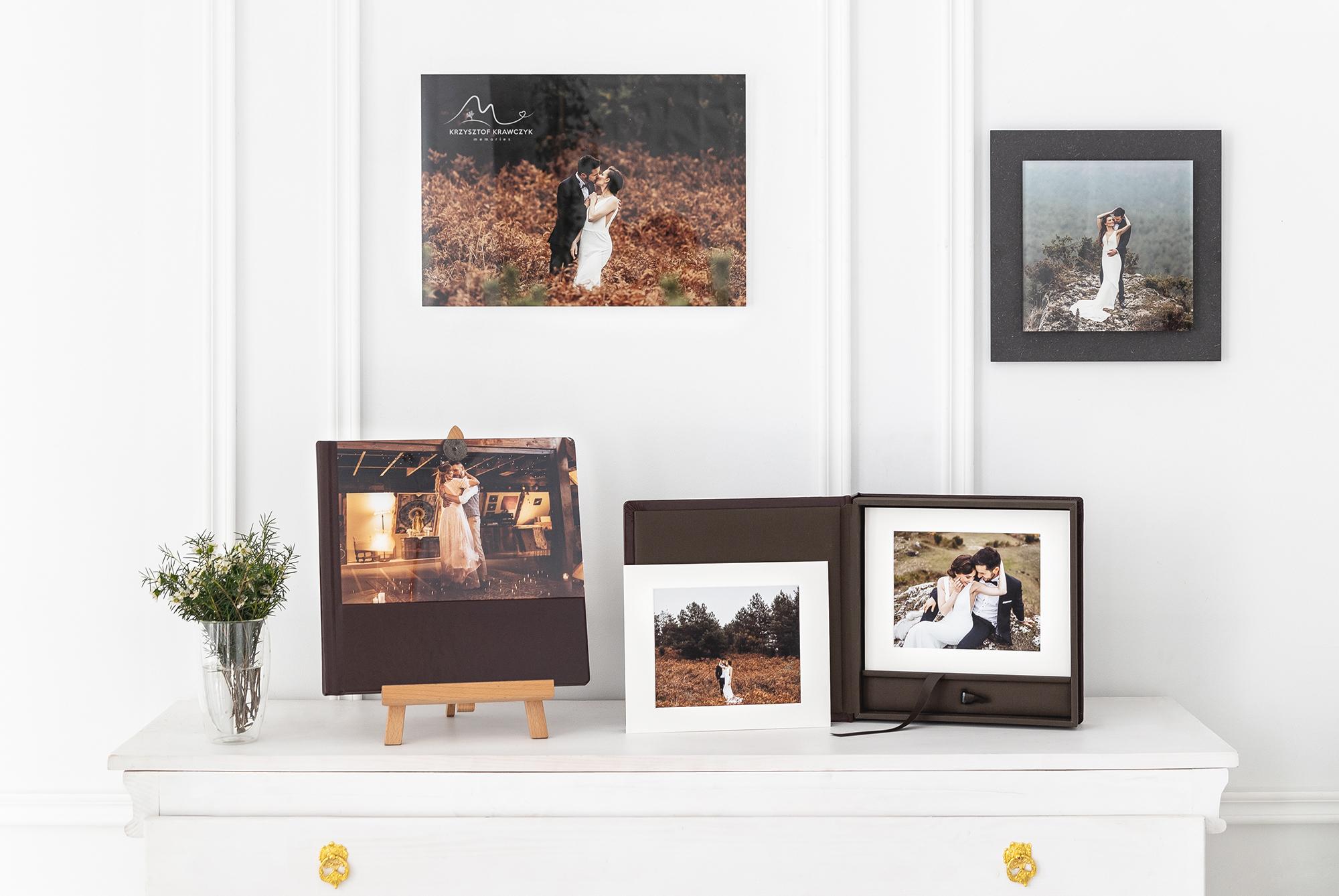 custom acrylic books for wedding photos