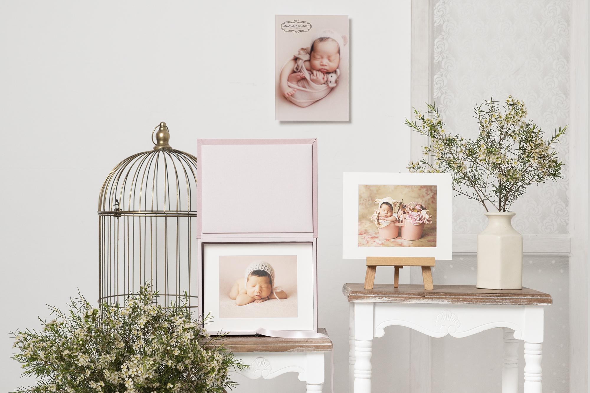 Acrylic Photo Prints with Professional Newborn Photography