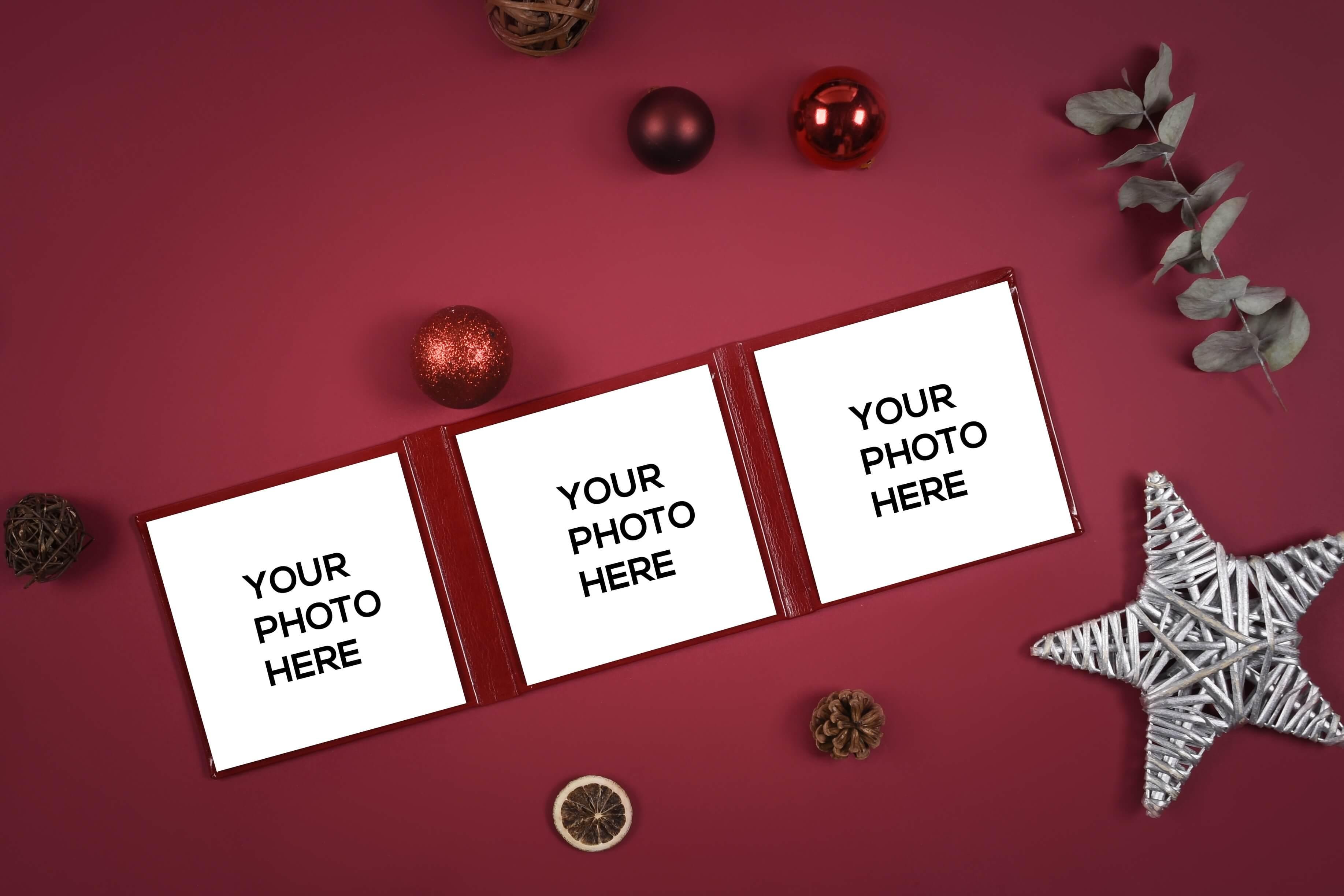 Christmas mini sessions mockups