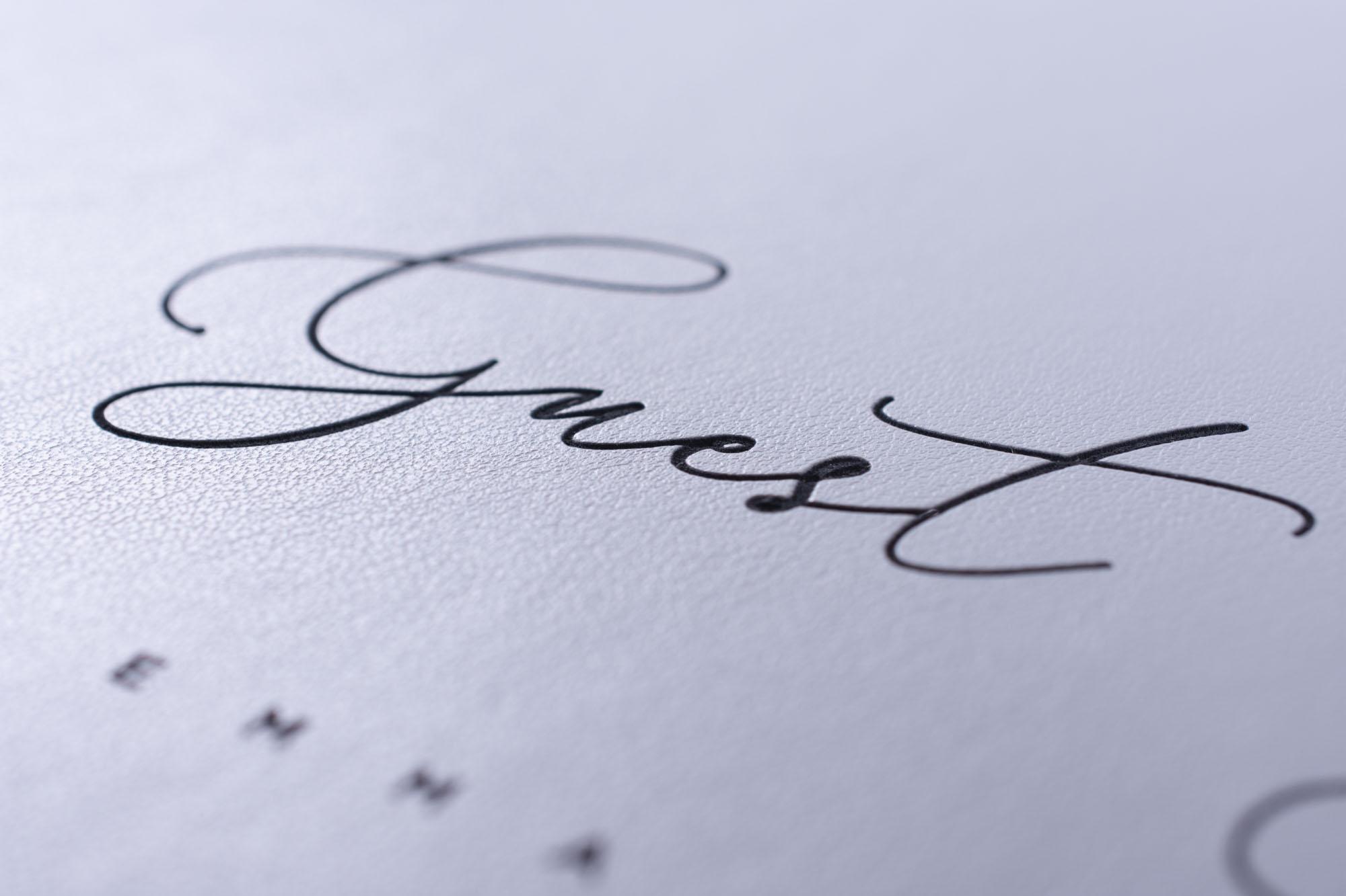 Wedding Signing Book