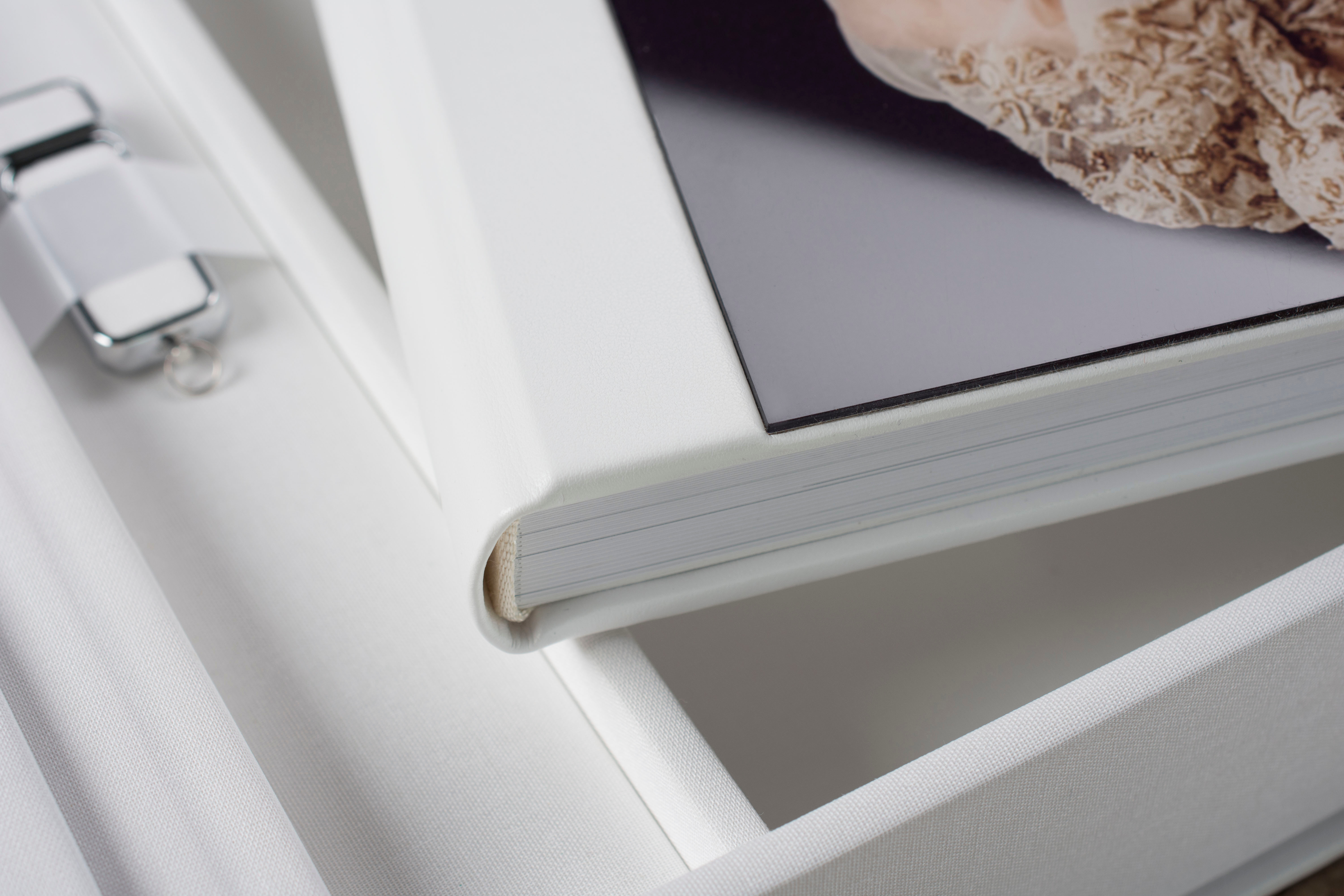 Photo albums are a professional photography studio's best friend.